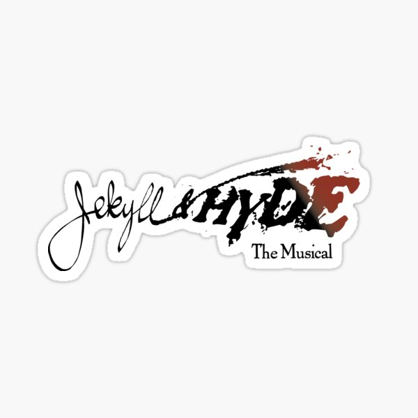 Jekyll & Hyde musical logo 2 Sticker