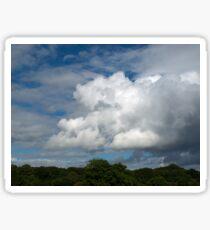 Cumulus Clouds Sticker
