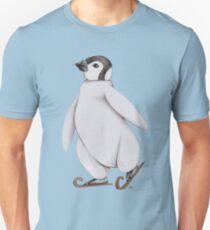 Skating Penguin - Ice Skating Penguin Unisex T-Shirt