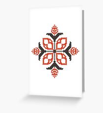 Vector traditional pattern 02 Greeting Card