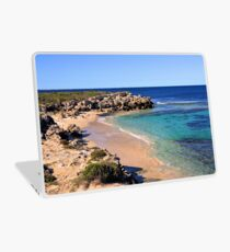 One of the beaches at Green Head Laptop Skin