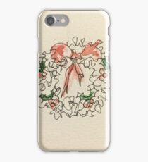 Christmas Wreath 2 iPhone Case/Skin
