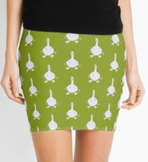 I honk therefore I am - #green Mini Skirt