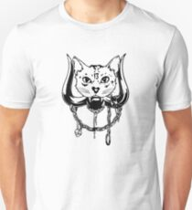 The Head Of The Cat Unisex T-Shirt