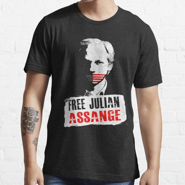 Free Julian Assange Essential T-Shirt