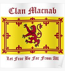Macnab - Scottish Clan Poster