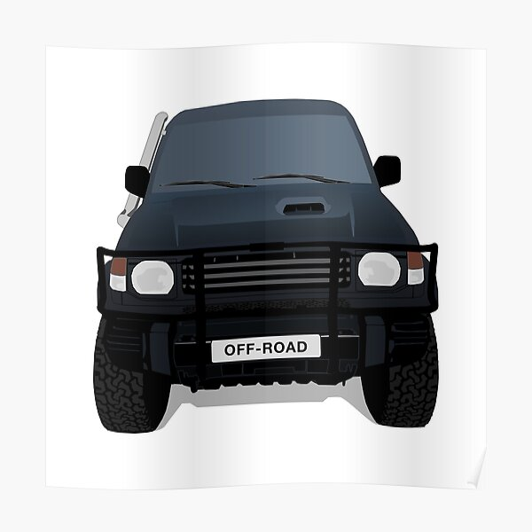 Off - Road Truck Poster
