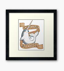 Original Unicorn  Framed Print