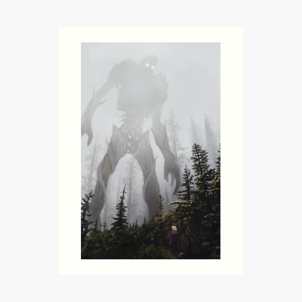 Encounter. Art Print