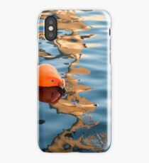 Buoy reflections iPhone Case