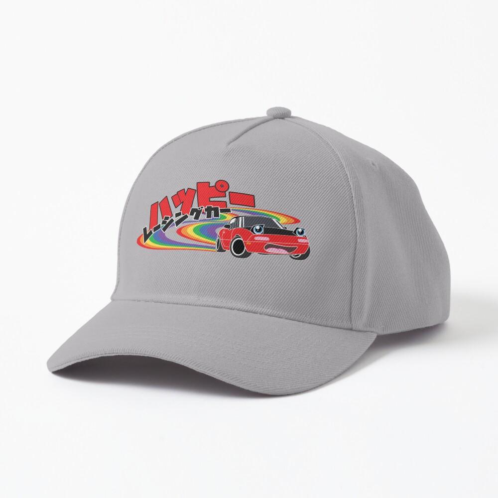 Happy Racing Car Miata Cap
