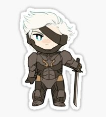 raiden chibi sticker Sticker
