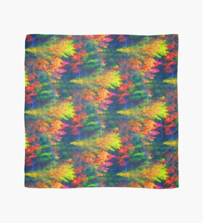 Red Yellow Green Abstract Colors Scarf