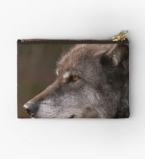Profile of a Wolf Studio Pouch
