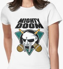 The Mighty Doom Womens Fitted T-Shirt