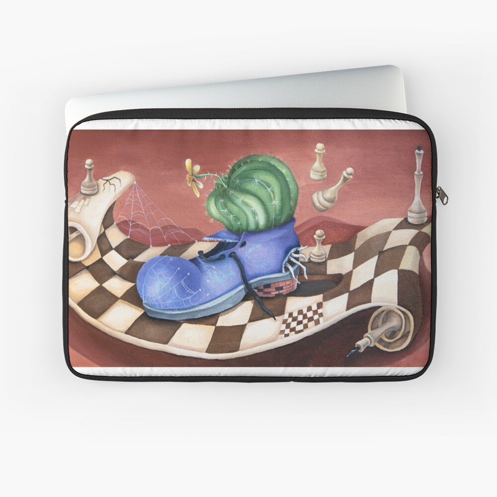 Shoe Laptop Sleeve Front