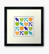 Square RPG Framed Print