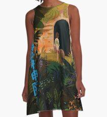 Spirited A-Line Dress