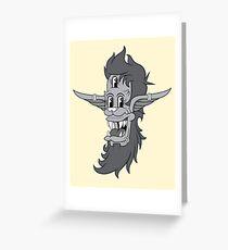 Retro Three-Eyed Elvish Lad Greeting Card