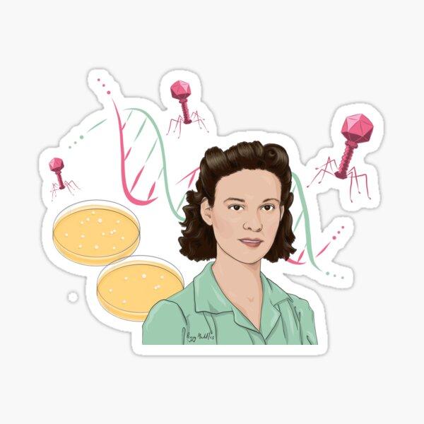 Esther Lederberg Sticker