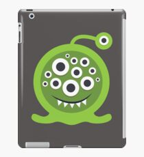 Green Monster Geek art iPad Case/Skin