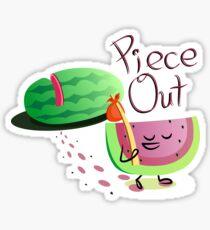 Piece Out Sticker