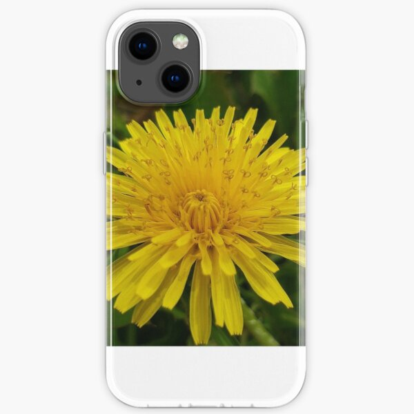 Yellow Flower  iPhone Soft Case