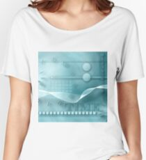 the mystery of time and numbers , art background Women's Relaxed Fit T-Shirt