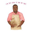 Selasi - King of Cool #GBBO by sarcochrane