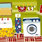 Laundry Room by Sonia Pascual