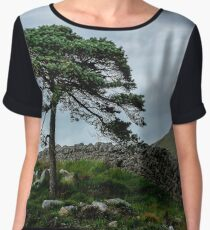 A Tree, On The Rocks Chiffon Top