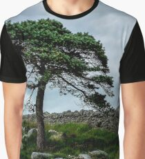 A Tree, On The Rocks Graphic T-Shirt