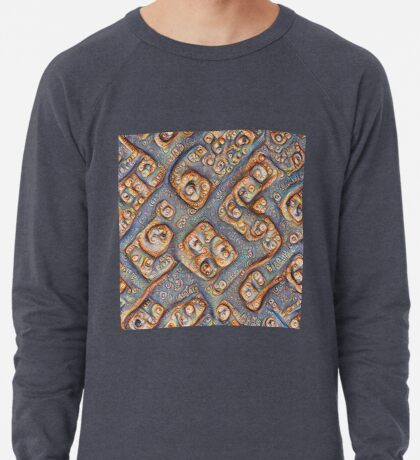 Frozen bubbles #DeepDream Lightweight Sweatshirt