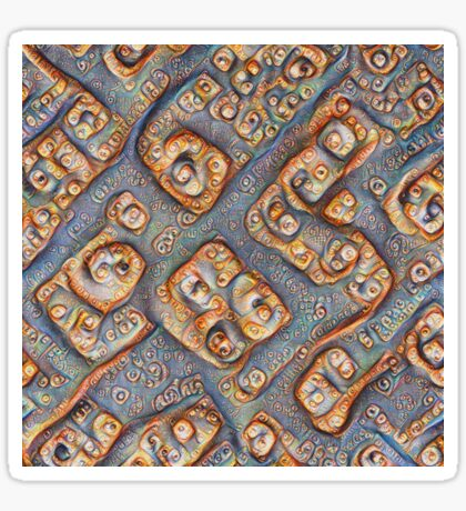 Frozen bubbles #DeepDream Sticker