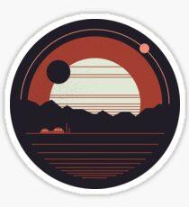 Solitude Sticker