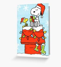 SNOOPY CHRISTMAS 8 Greeting Card