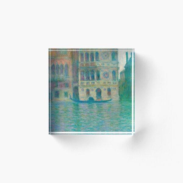 Palazzo da Mula, Venice Acrylic Block