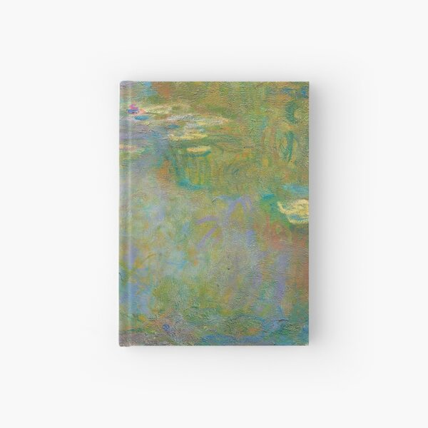 Water Lilies Hardcover Journal