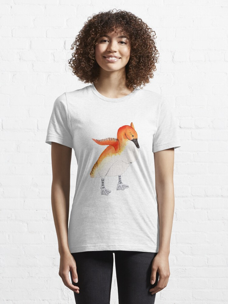 Alternate view of Confident Carrot-Top Cygnet Essential T-Shirt