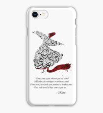 Rumi Quotes Calligraphy Vertical iPhone Case/Skin
