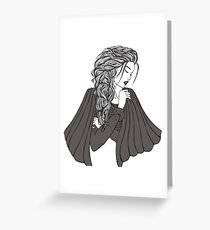 Classic Lady Greeting Card