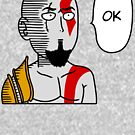 One Punch Kratos by PlatinumBastard