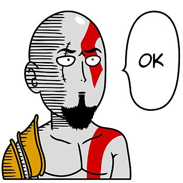 One Punch Kratos by PlatinumBastard