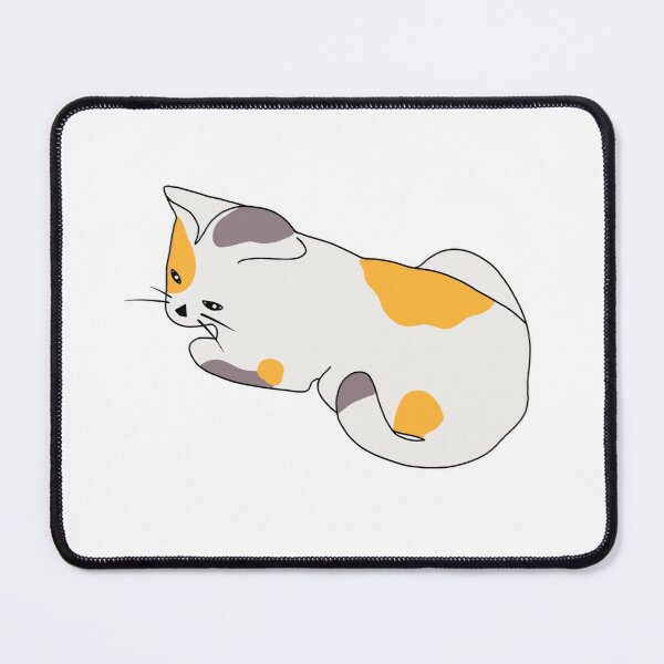 Miracle, the Calico Cat Mouse Pad