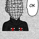 One Punch Pinhead by PlatinumBastard
