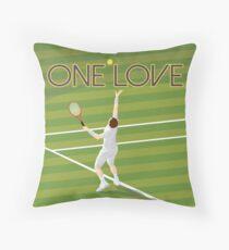 Tennis - one love Throw Pillow