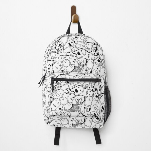 Crazy Cool Cartoon Characters Backpack