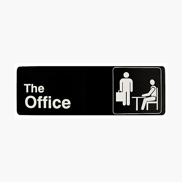 The Office Photographic Print