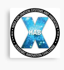 X-Hab 2017 Competition Logo Canvas Print