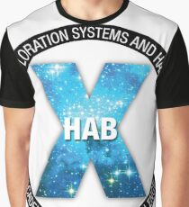 X-Hab 2017 Competition Logo Graphic T-Shirt